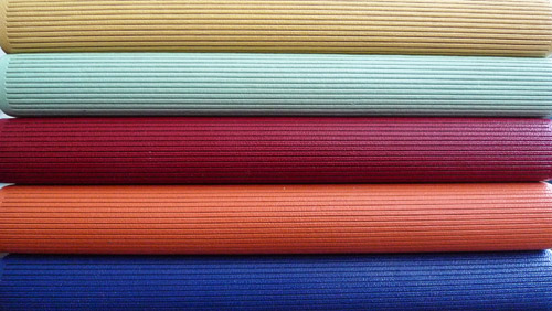 The Five Coloured Books, 2012-13 Leather cover.