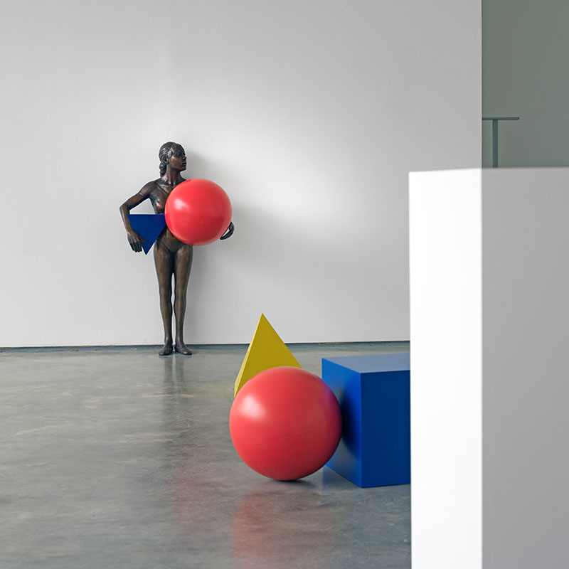 You walk into a space, any space, Or. Poor little girl beaten by the game   2010 Image credit: ©Ryan Gander. Courtesy the artist and Lisson Gallery. Image Ken Adlard.