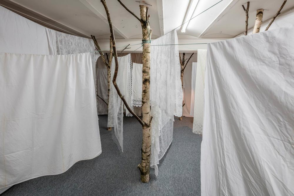 From the exhibition Hide, Overgaden, 2016  Photo Credit: Anders Sune Berg