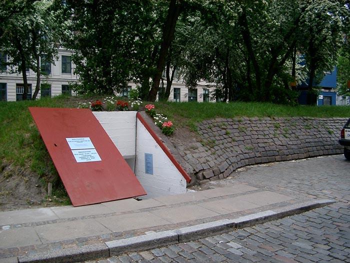 Injection room for drug addicts in Copenhagen