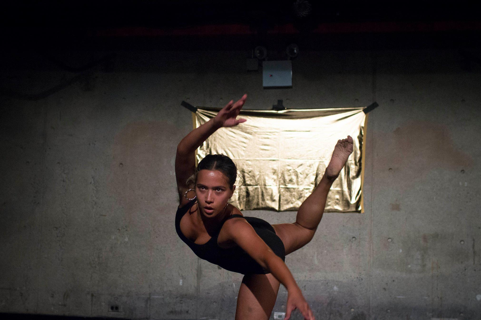 """As the end of Elza Soares' """"Woman at the End of the World"""" approached Rad grew emotional, empowered, passionate and frenzied. Jumping between moments of rigorous athletic wildness and strict classical moves that confined them."""