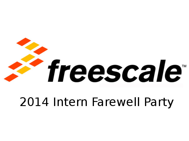 Freescale Intern Farewell Party - 080814-A