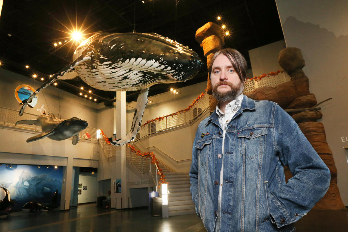 Humpback Whales & Me - Loveland Living Planet Aquarium, Draper Ut.  ( Scott G Winterton, Deseret News)