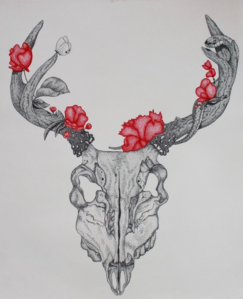 Deerskull&flowers.jpeg