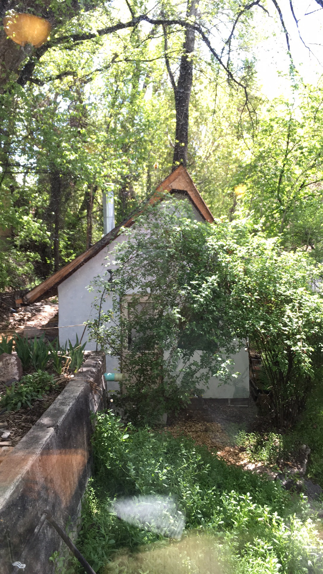 The Gingerbread Cottage where I lived, composed and practiced music