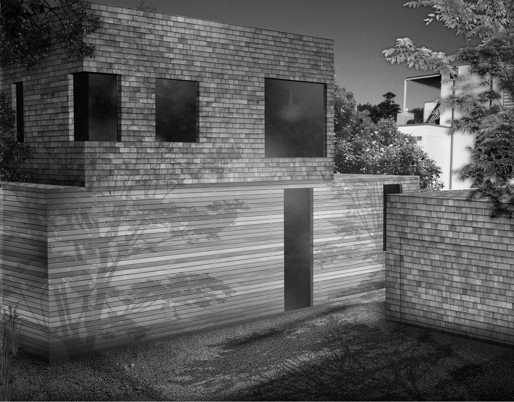 House in Remuera View+to+Garage B&W.jpg