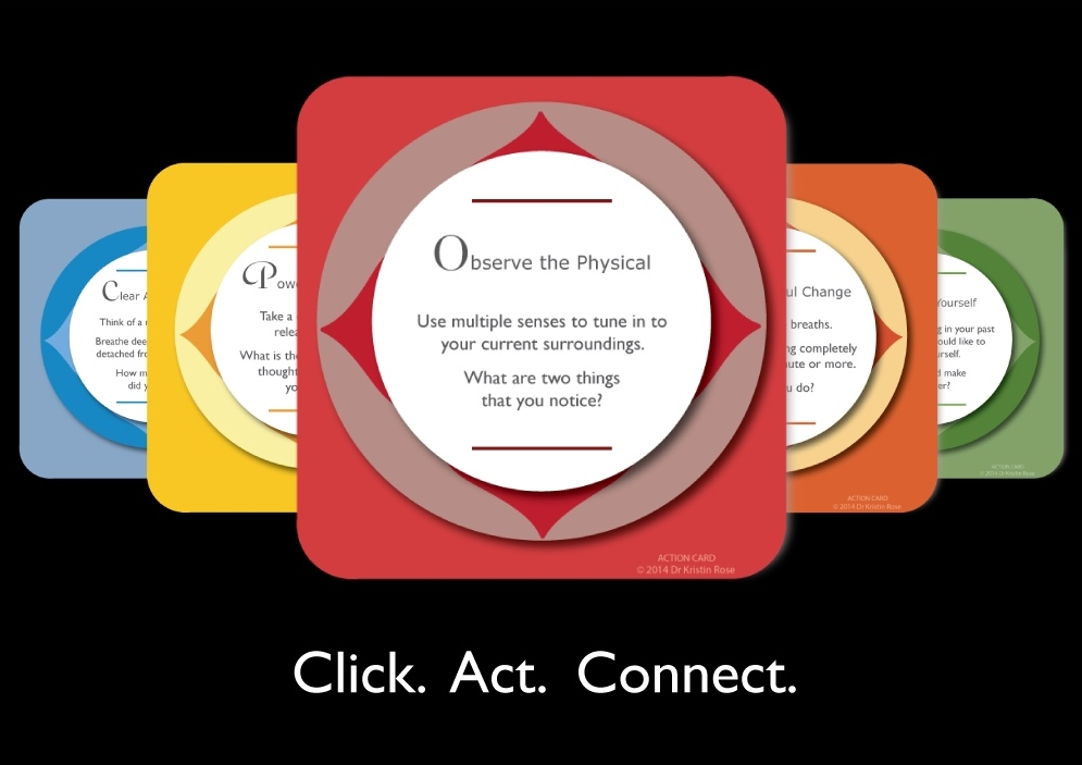 Action Cards- Free Weekly Email Subscription