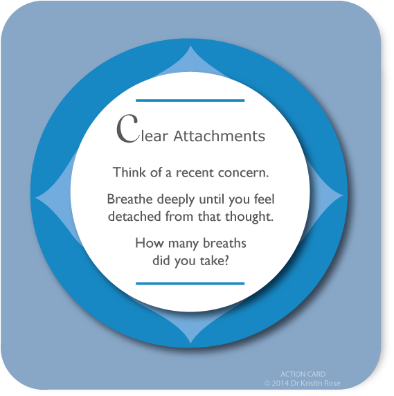 Clear Attachments - Action Card Blog - Dr. Kristin Rose