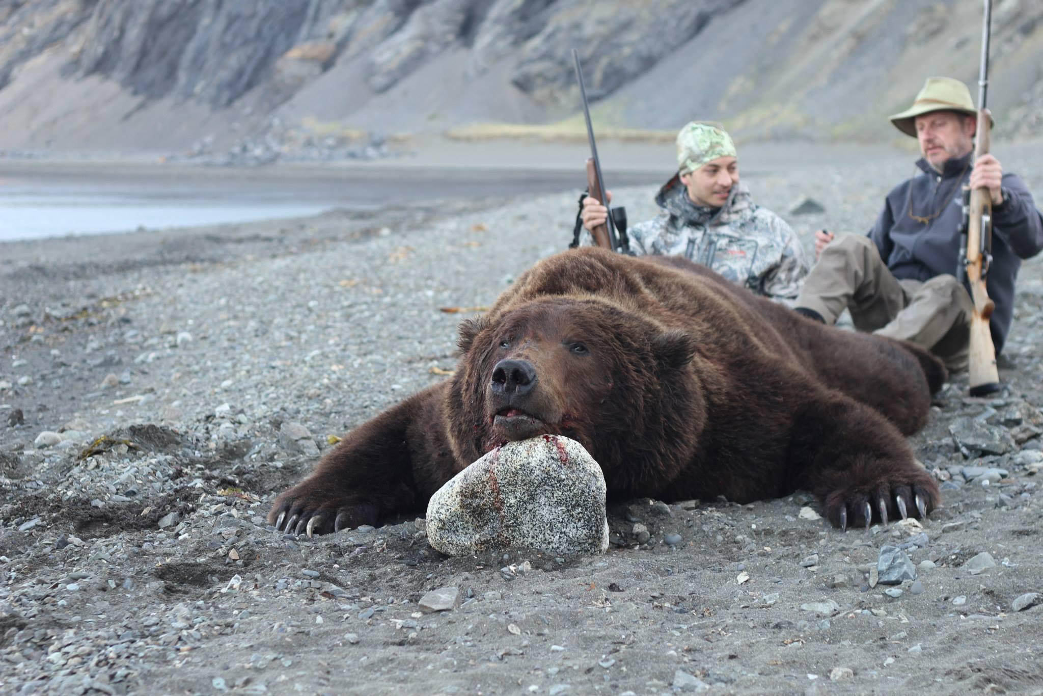 Весна 2014г. Полуостров Аляска. 9 Футов.