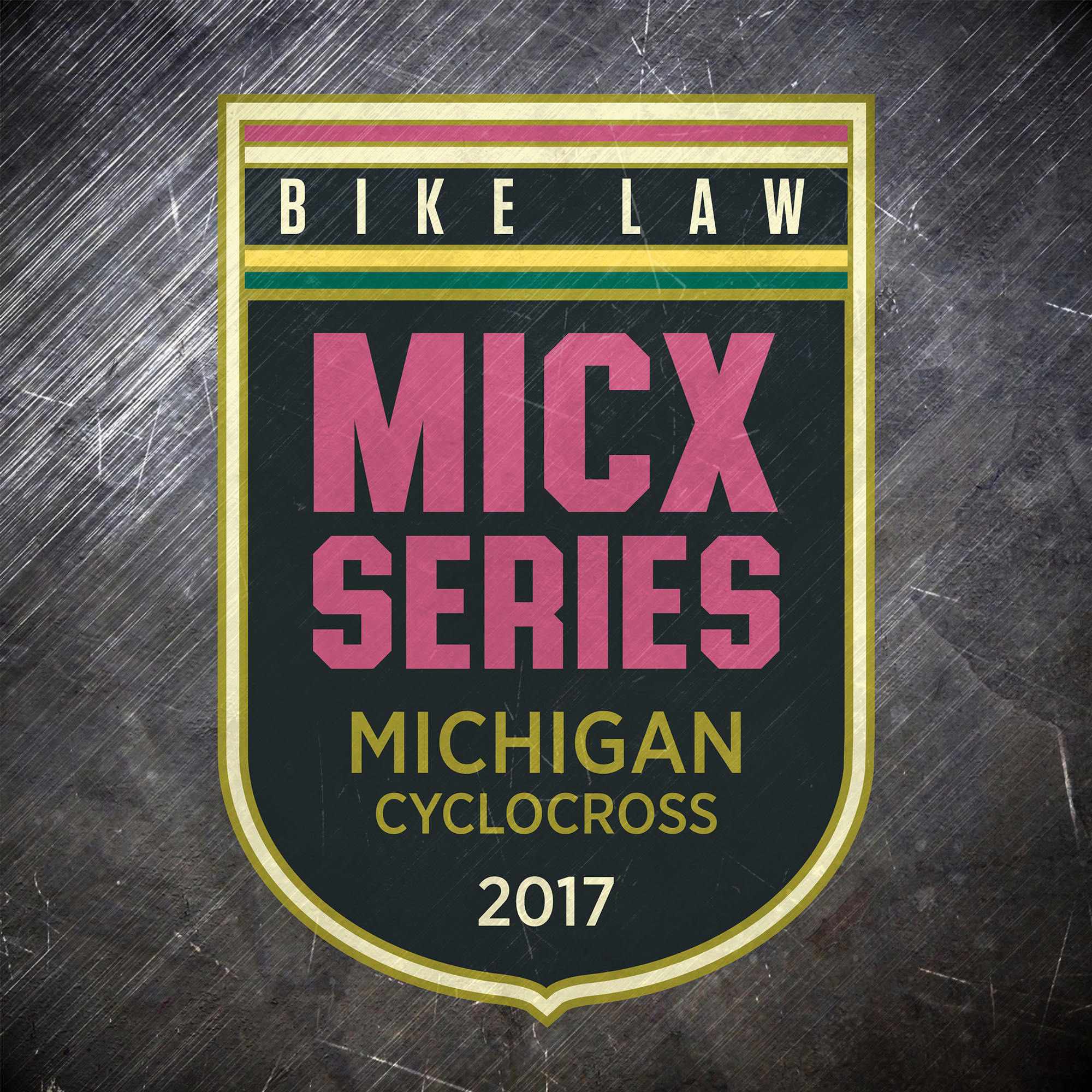 Bike Law 2017 Michigan Cyclocross Series Logo