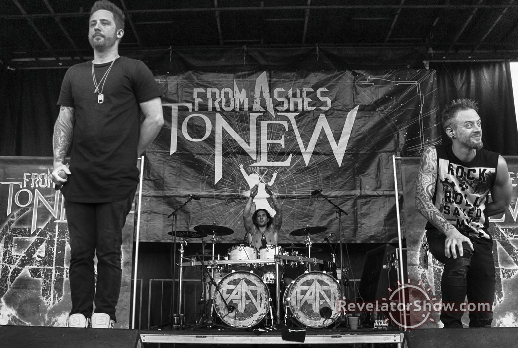 From Ashes To New Interview and Photos — TRS