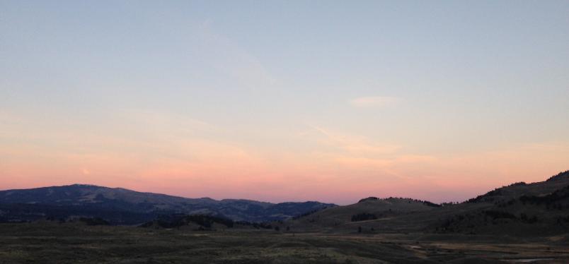 Lamar Valley at 6:30am