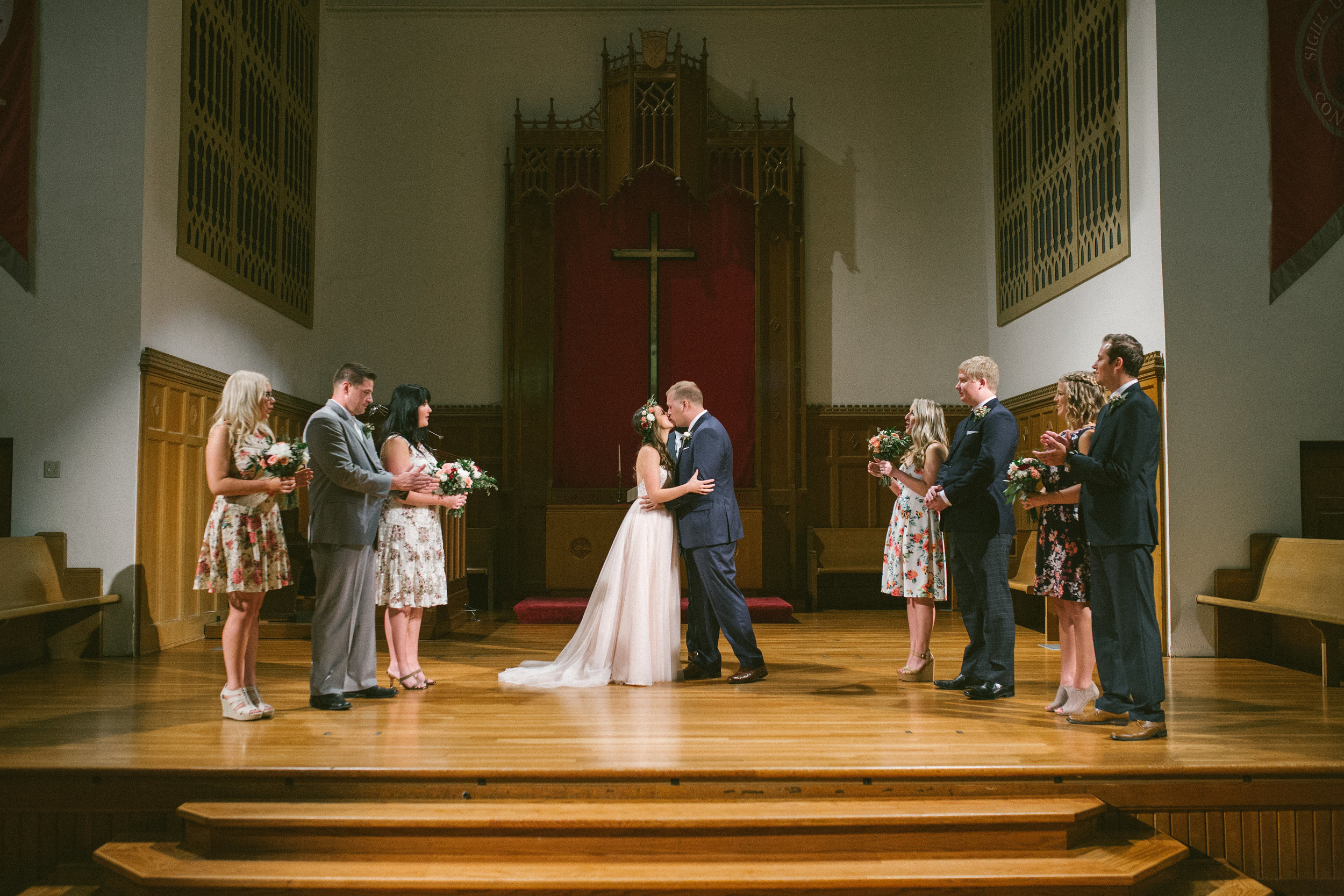 wedding ceremony at drury