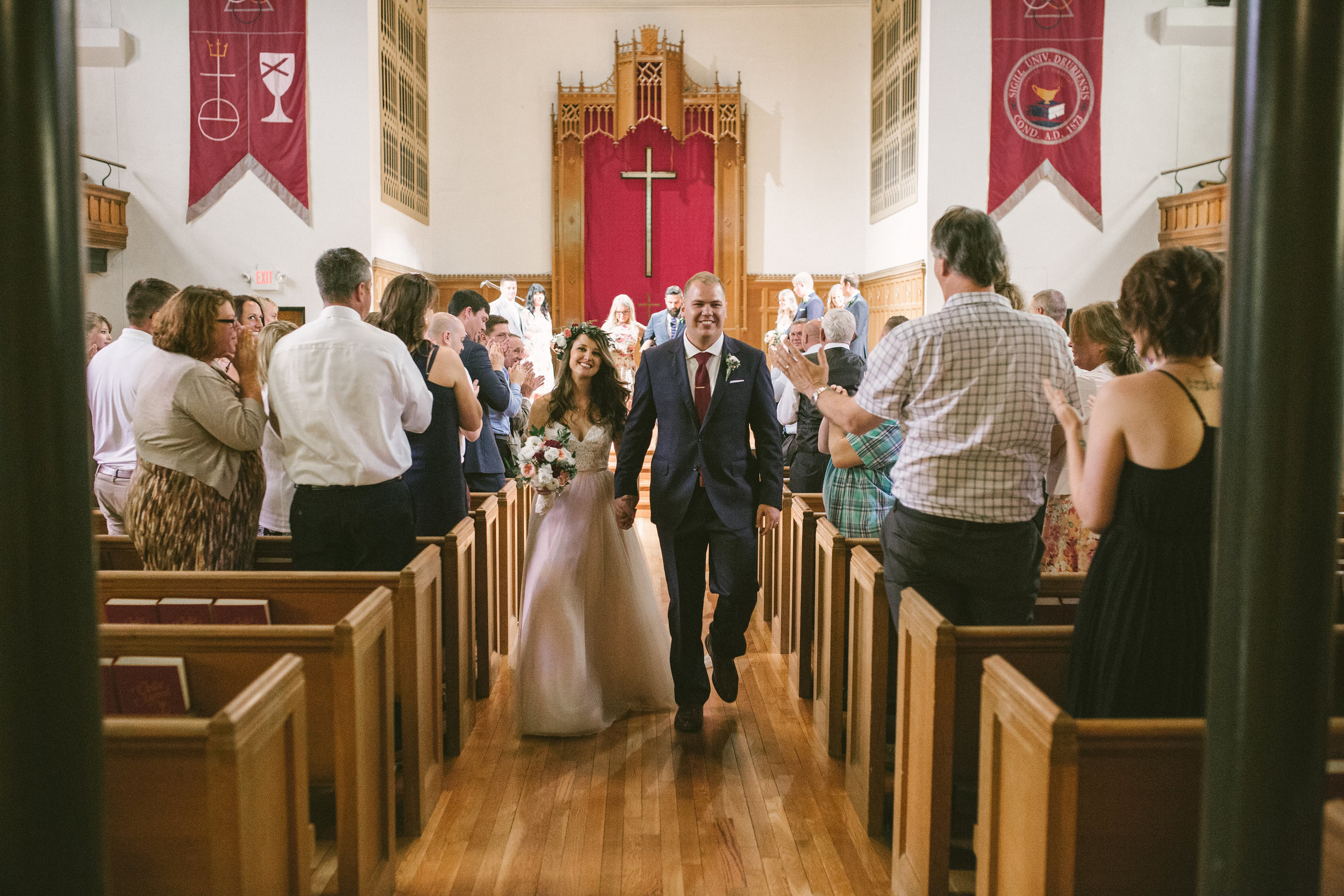 recessional at drury chapel