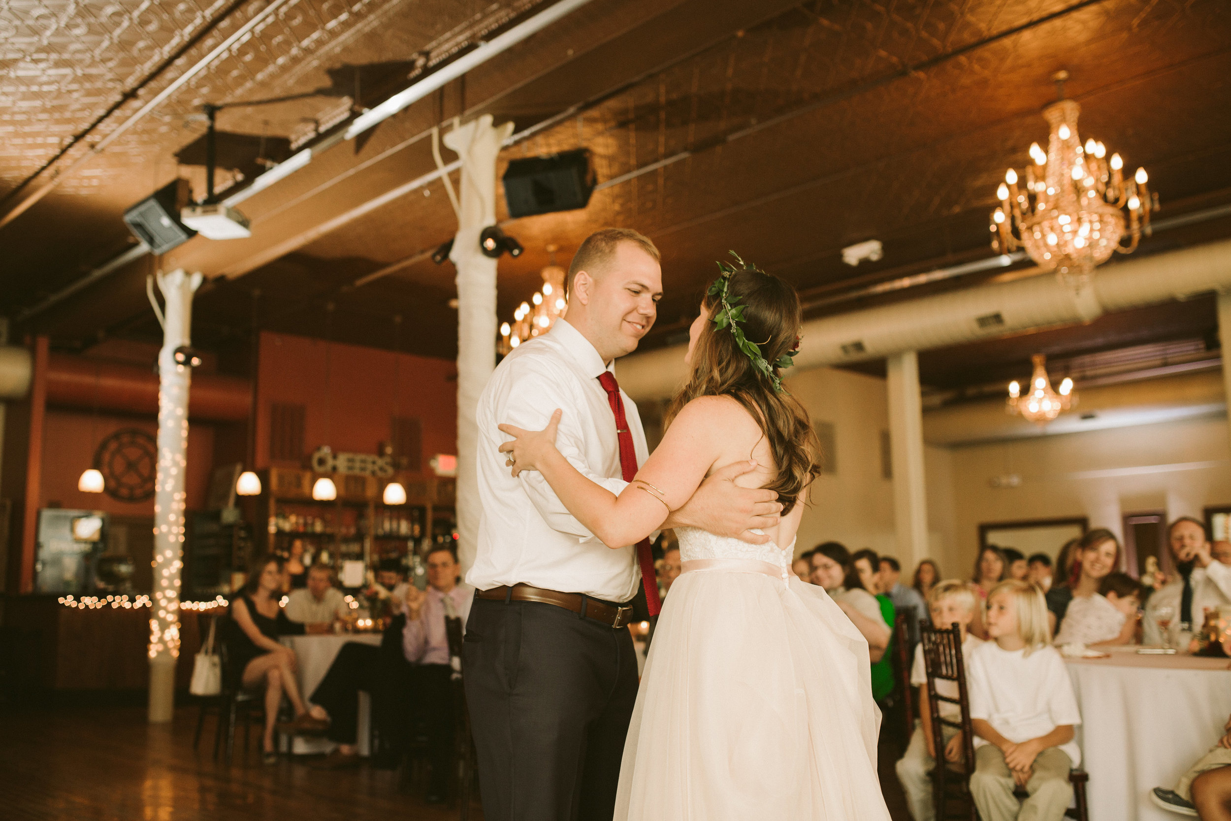 first dance closeup
