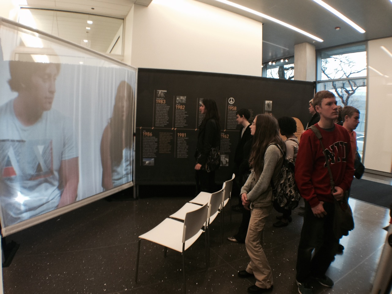 N Square Exhibit, University of Chicago