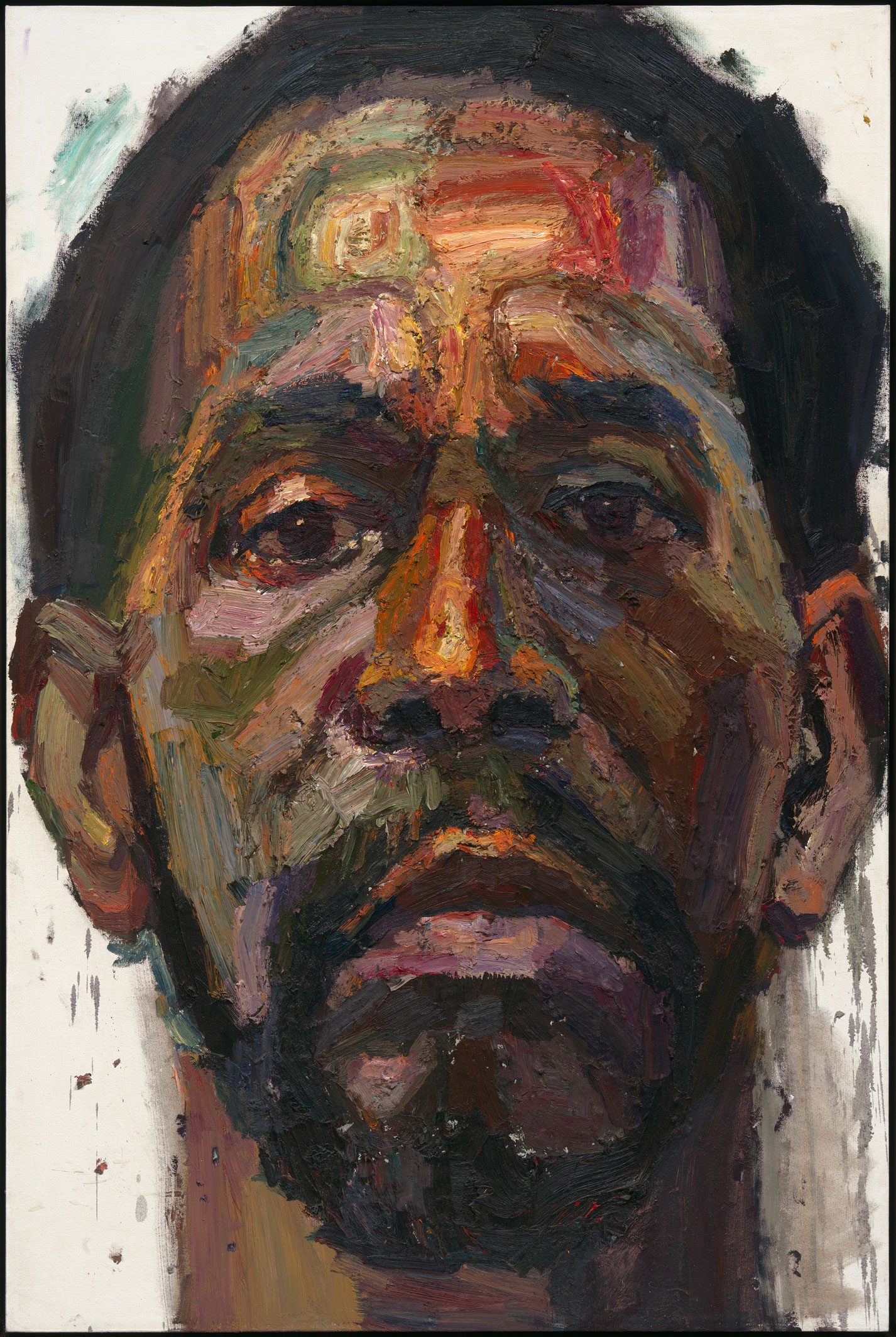 Sedrick, Sed, Daddy by Sedrick Huckaby Oil on canvas 2014 Beverly and George Palmer; courtesy of Valley House Gallery & Sculpture Garden,Dallas, Texas © Sedrick Huckaby