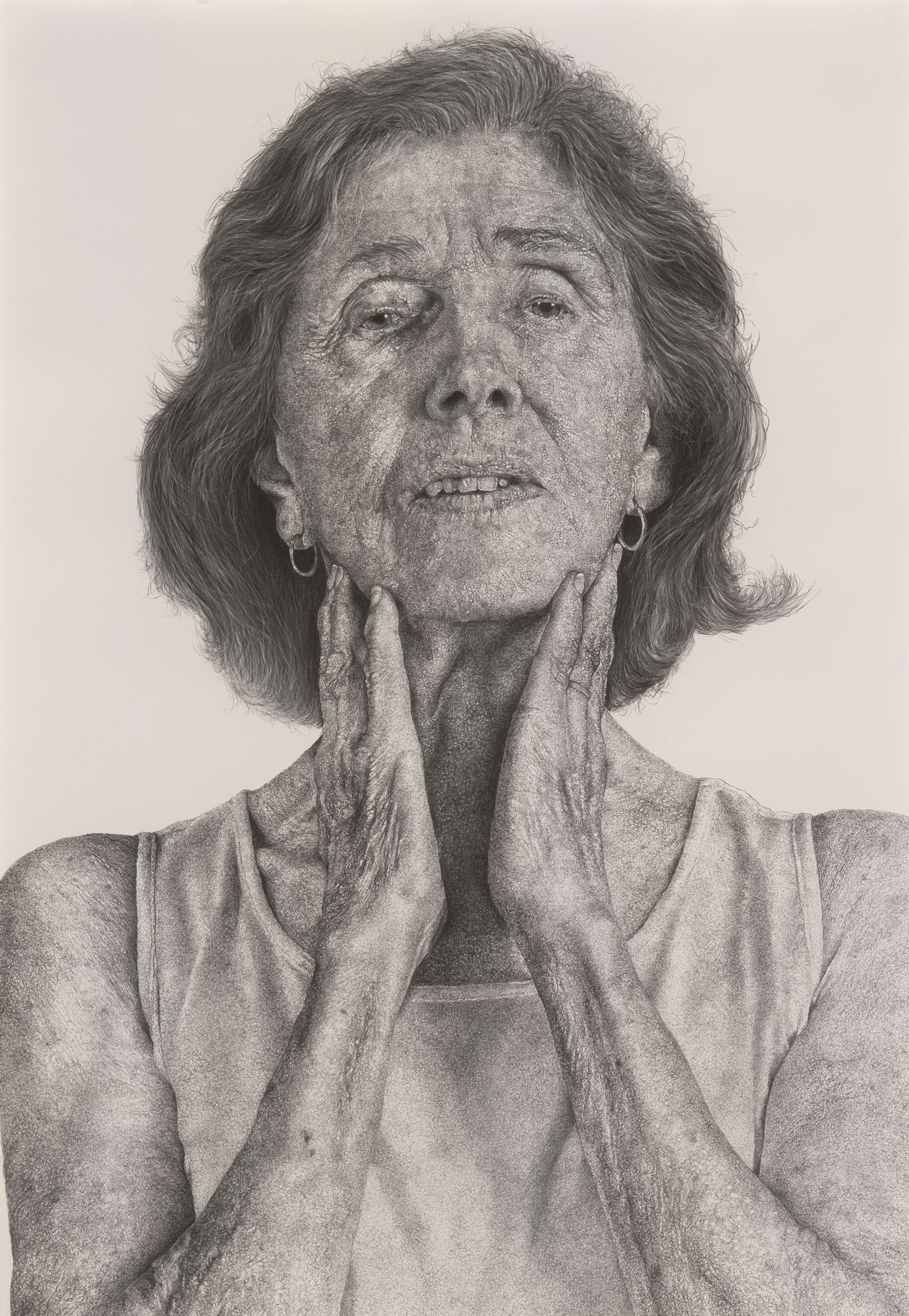 Phyllis by Ray DiCapua Charcoal on paper 2014 Collection of the artist © Ray DiCapua