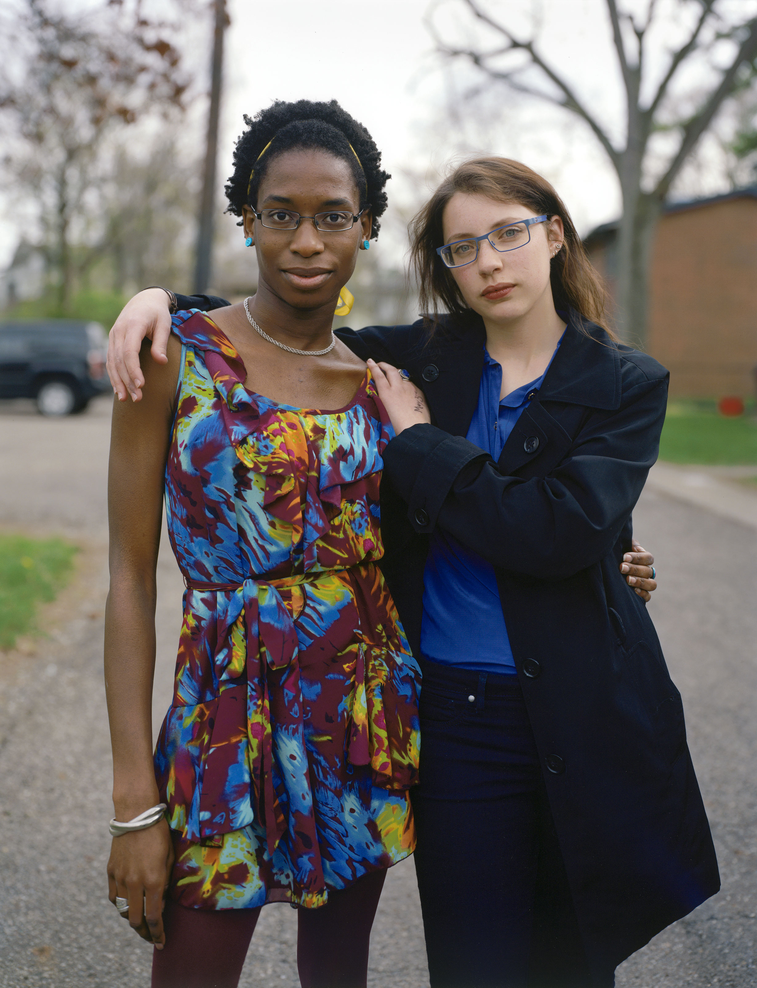 Heidi and Lily, Ohio 2014 by Daniel James McInnis Inkjet print from 8x10 color negative 2014 Collection of the artist © Daniel James McInnis