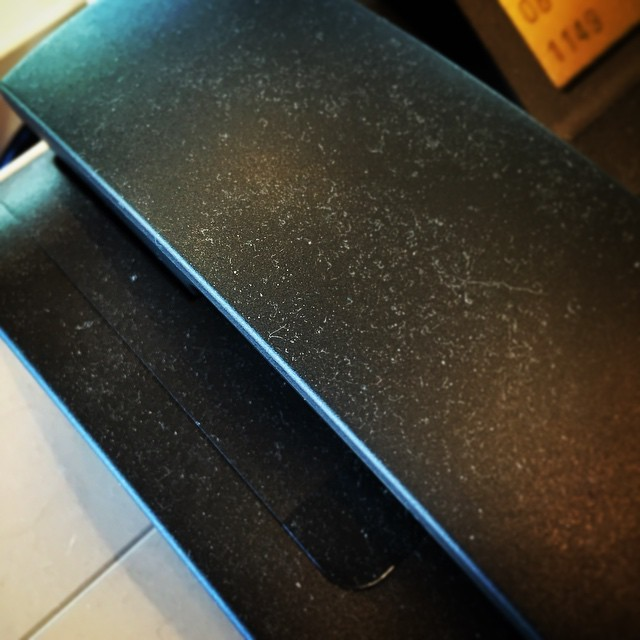 My office phone is literally covered in dust due to non-use. I also don't know how to check my voicemail. So…in case you're wondering how to reach me, the phone would be a poor choice.
