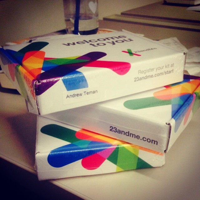 Time for some family genetics  testing! #23AndMe