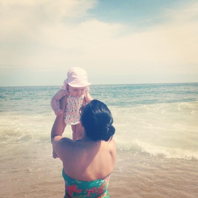 Beach baby. (at Surfside Beach)