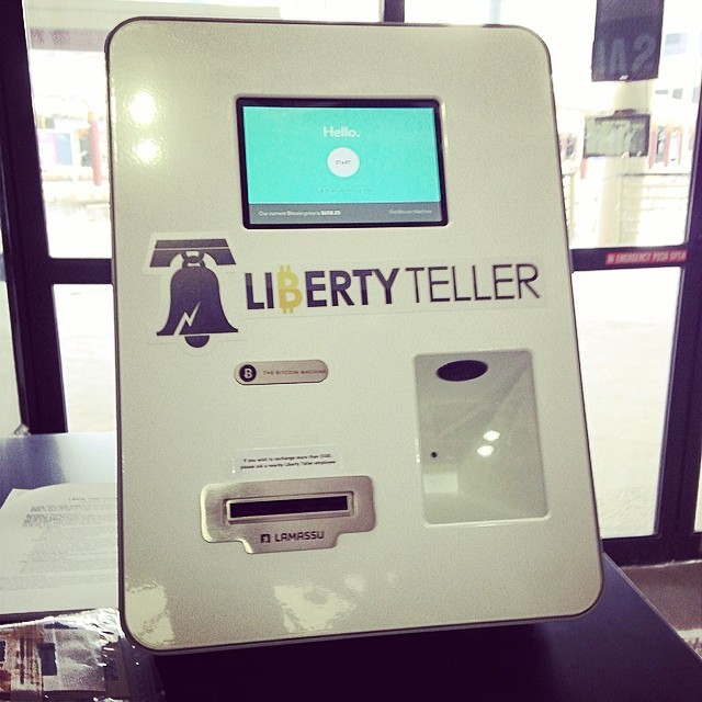 Saw the country's first #Bitcoin ATM today at Boston's South Station.