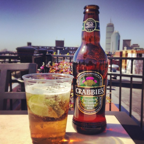 Hey team. I try and avoid shamelessly plugging the things we work on here at the agency, but this is a fun one, and I think a well timed one (for the long holiday weekend).   If you haven't had a chance to find and/or try  Crabbie's Alcoholic Ginger beer , might I suggest you seek some out this weekend?  Aside from being a new client, it's actually a fantastic product and something that I am really excited to help introduce to The States.  It's crisp and refreshing (despite the dark bottle), slightly sweet, and perfect for the beach, boat, deck or whatever other outdoor activities you have planned for Memorial Day. Serve it over ice with a lime (or lemon), or if you're feeling cheeky, throw a splash of rum in there too for a modified Dark & Stormy. Either way, check it out.   And lastly, if you DO have a chance to try it, please snap a pic on Instagram and tag it #CrabbiesHour. We're doing some fun digital stuff over on  CrabbiesHour.com , and any content you create, will help push that off properly.  Crabbie's is a bit tough to track down right now, but it IS around Boston, NYC, and in well-hidden corners around the country. So ask at your local bar or liquor store. And if you happen to be at  Figawi  this weekend, Crabbie's will also have a presence there.  Thanks, and enjoy!