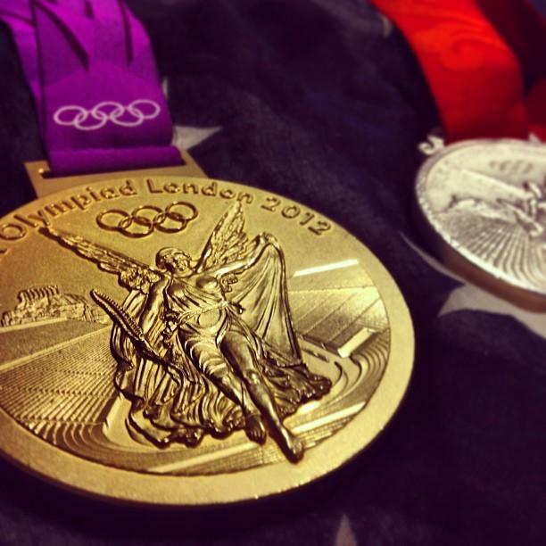 Olympic Gold. (at Liberty Mutual)