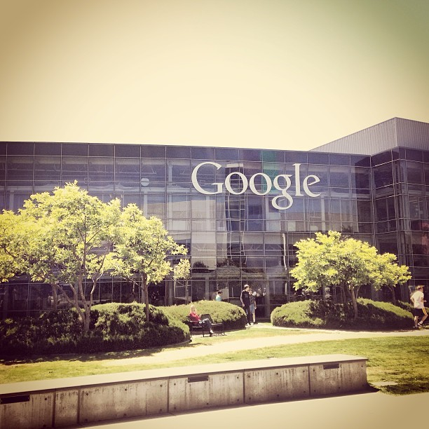 Spectacular day on the Google campus. (at Googleplex)