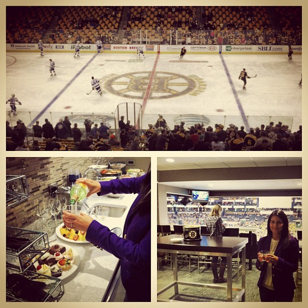 Bourgeois Bruins viewing. (at Hill Holliday Suite 511)