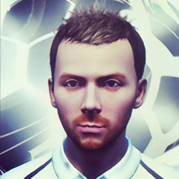 My FIFA13 self. I think it came out pretty well. (Taken with  Instagram )
