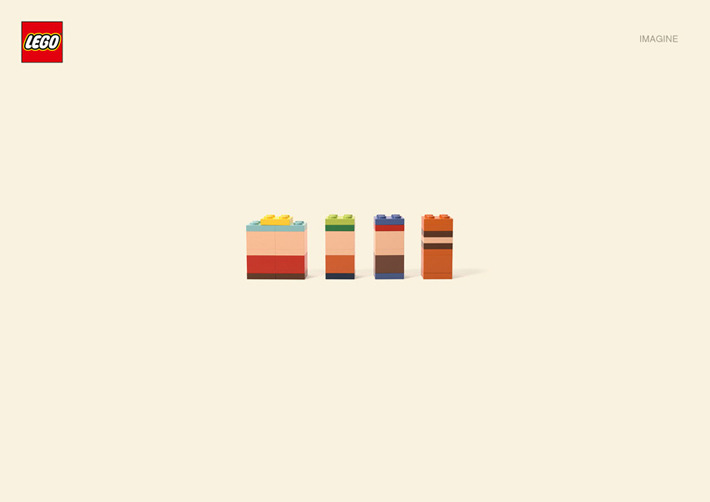 Awesome new Lego work from German agency   Jung von Mat  .