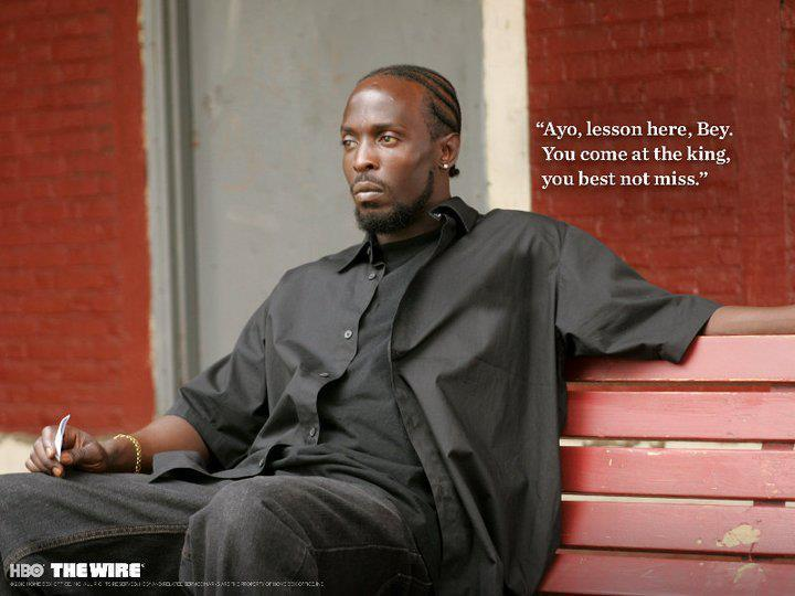 Damn I love the Wire.