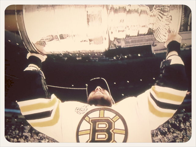 Hoisting The Stanley Cup  on Flickr.