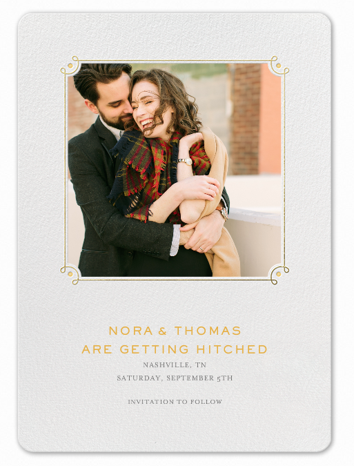 Paperless Post Save the Date