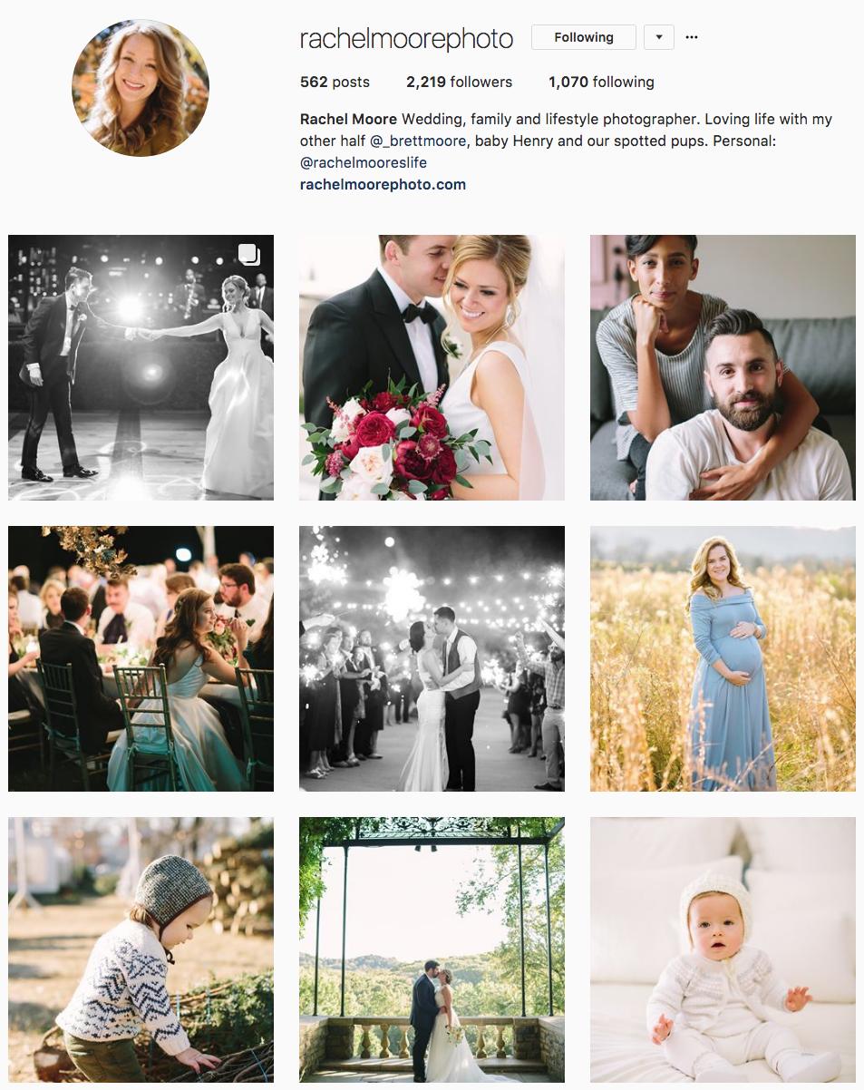 Rachel Moore Instagram