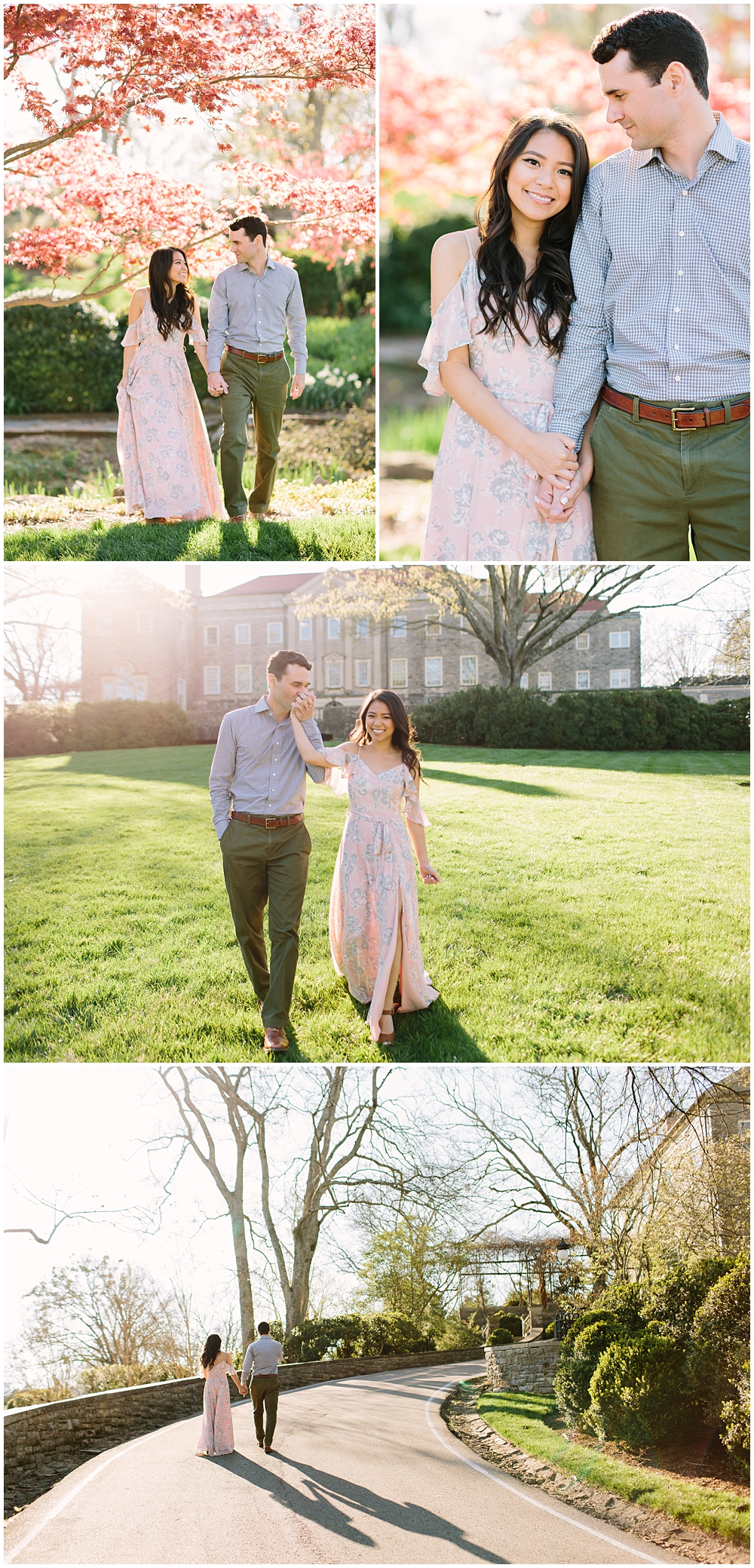 Nashville Engagement Session Cheekwood Rachel Moore Photography