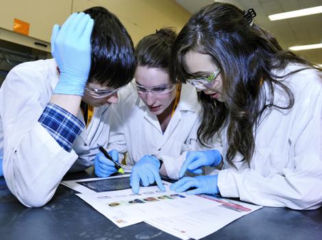 Crédit photo : Département de chimie - Université Laval