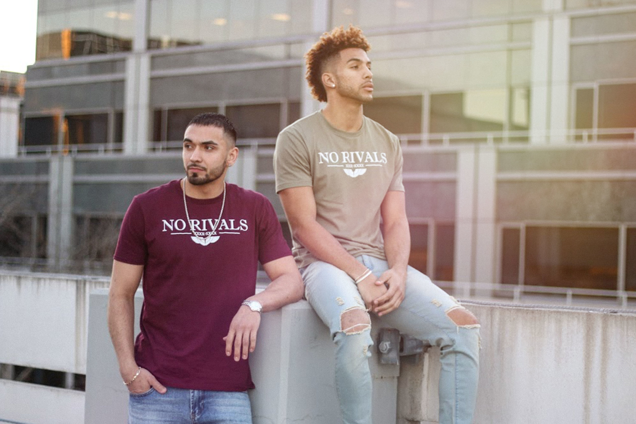 Defy The Odds Lifestyle Brand Maroon T-Shirt