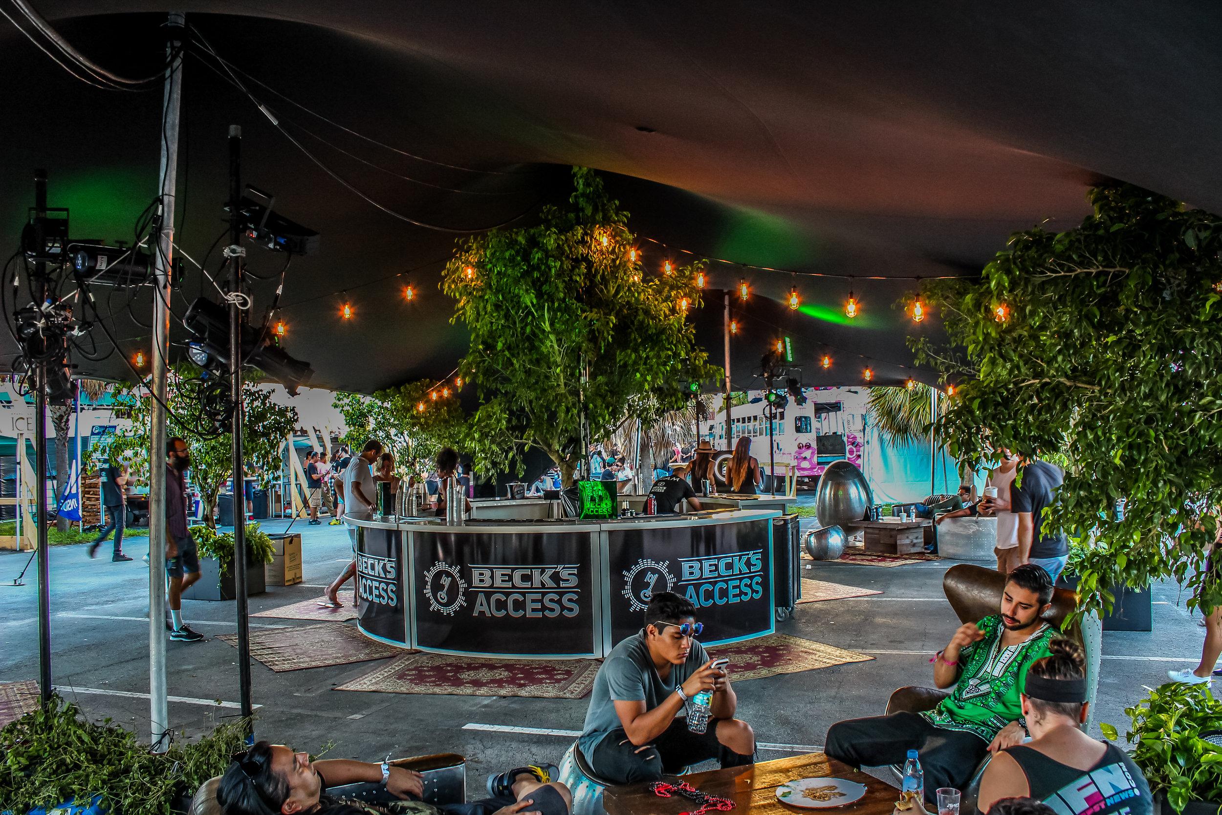 Corporate Event Stretch Tent Rental