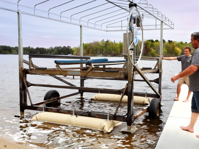Boat Lift Helper Air Bags