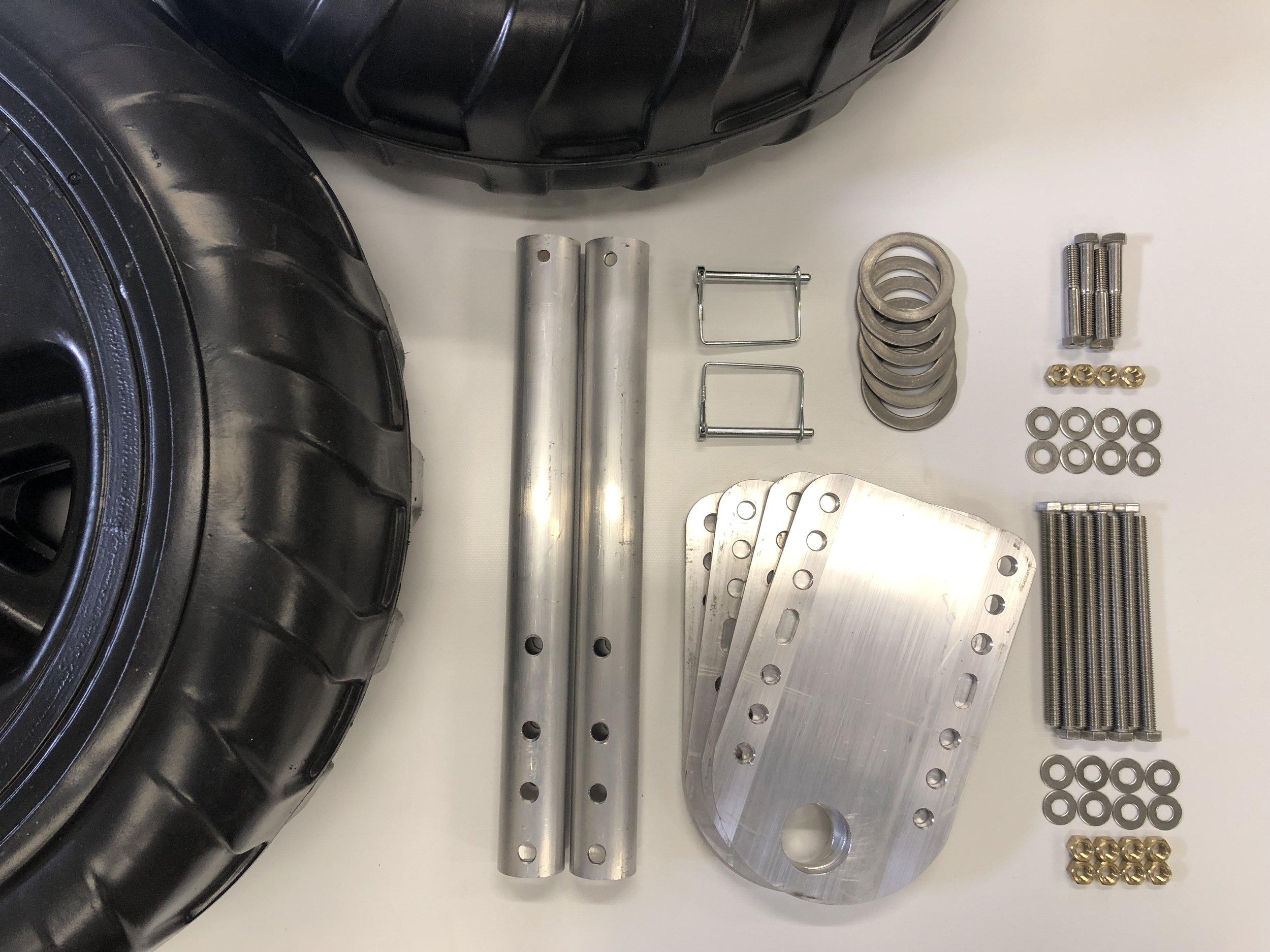 Boat Lift Wheel Kit
