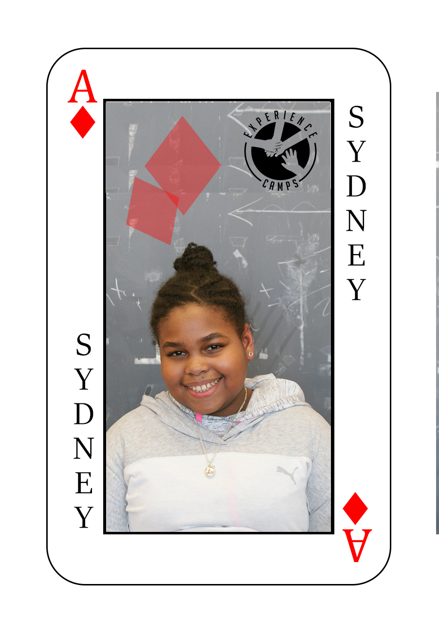 My name is Sydney and mom my died when I was 9 years old of a heart attack. It was the day after Mother's Day and I was devastated. Camp is so special because everyone around you can relate to you. They get how you feel and when you want to cry, you can cry. When I'm at school, I can't really do that. People say they get it, but they really don't. I just want to be happy and joyful, and camp brings that out in me. My favorite moment of camp was doing luau at the end. I'm a really bad dancer but I liked doing that.