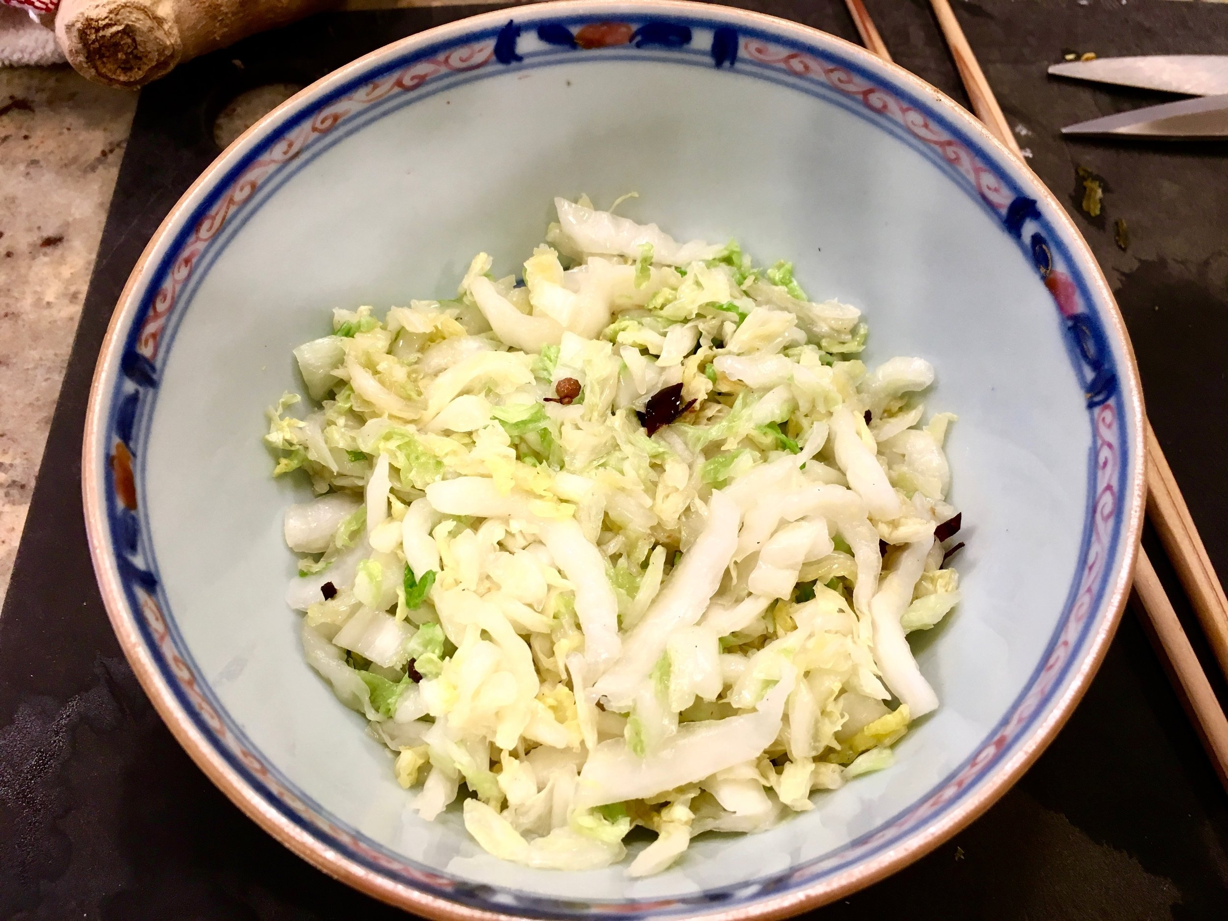 Spicy Chinese Cabbage