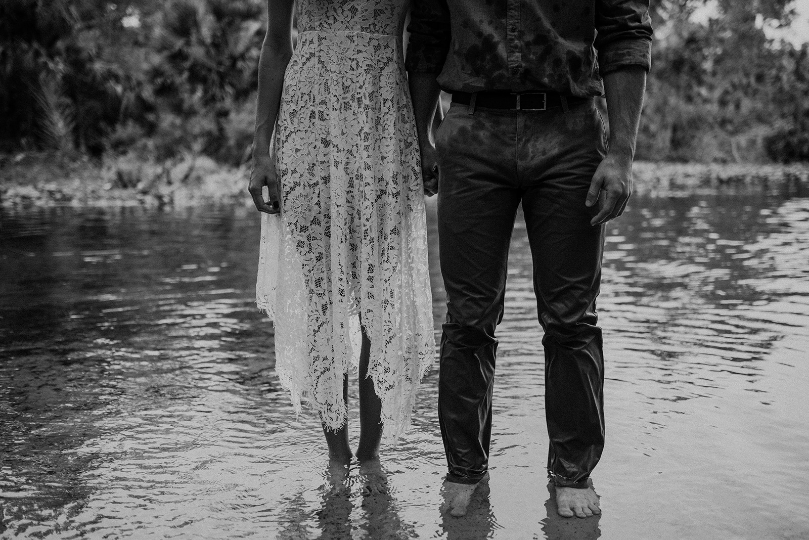 Orlando Engagement session at Wekiva Springs State Park, oak and iron photography