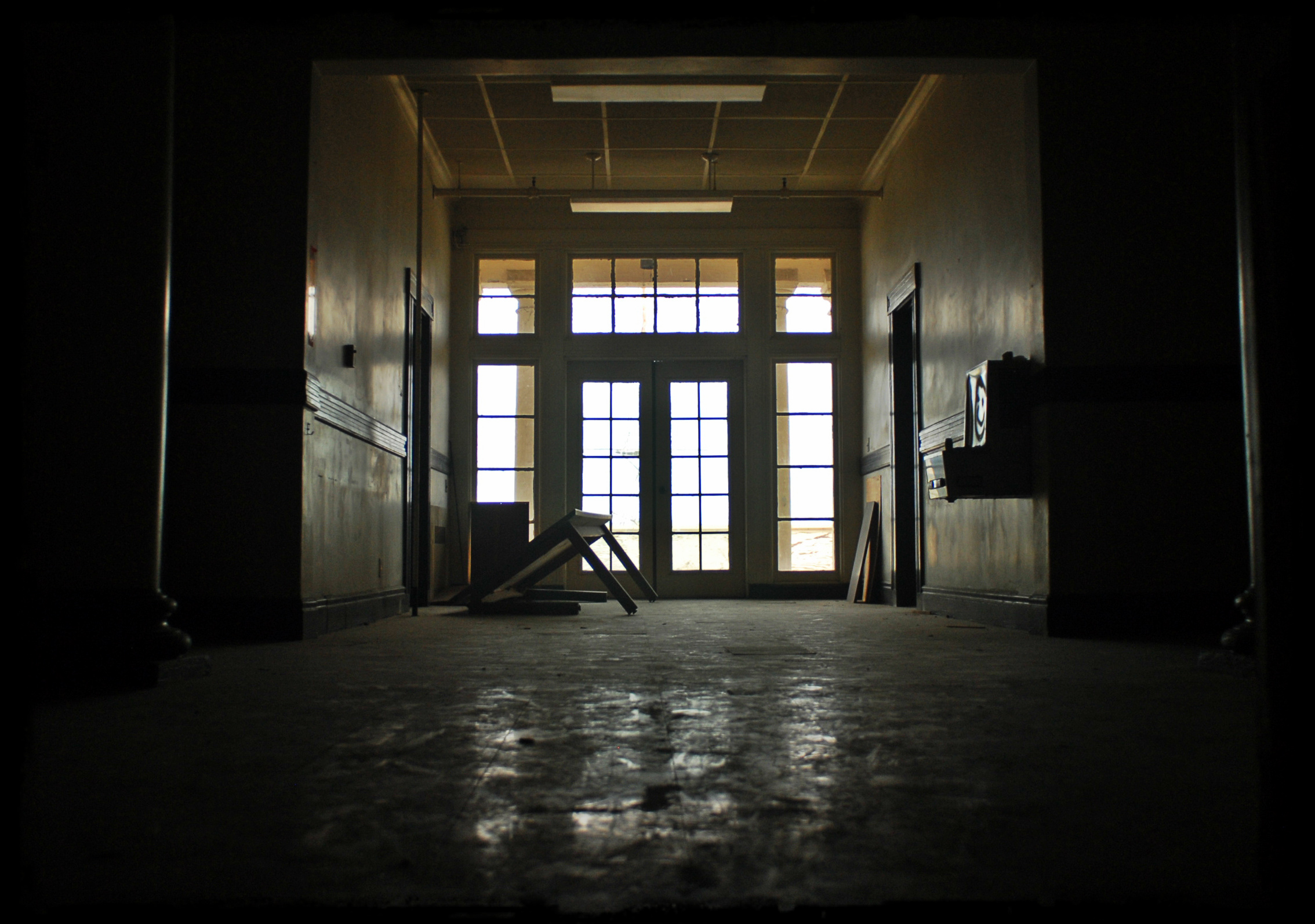 Abandoned Mare Island Naval Hospital built in 1869.