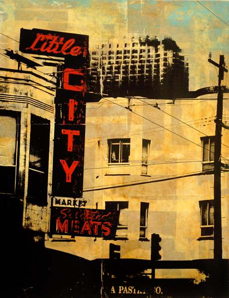 Little City, on exhibited at Studio Gallery from September 28 - October 20.