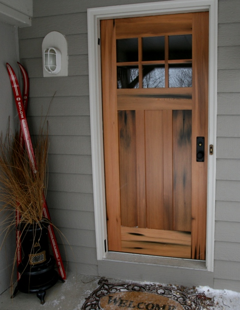 This pickle vat door crafted as part of home remodel in upstate NY. D34