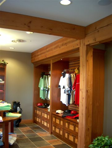 Custom built-in for a golf course in NY. F13